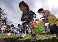 イースター(復活祭) 3月22日から4月25日までの間の日曜日