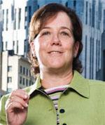 社会起業家で、セリーズ会長のミンディ・ラバー (Courtesy of Ceres)